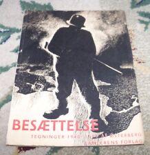 1945 BESÆTTELSE TEGNINGER 1940-45 ØSTERBERG NAZI OCCUPATION DENMARK CARICATURES