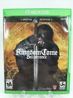 Kingdom Come: Deliverance SPECIAL EDITION -Xbox One- Great Condition!