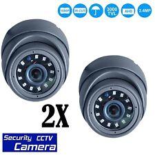 2 x 2.4MP Sony CCTV 4 IN1 Dome Camera HD CVI 238AHD TVI Analog NIGHT VISION UK