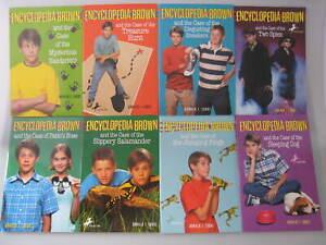 Encyclopedia Brown by Donald J. Sobol 8 Book Set (Paperback) NEW