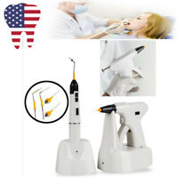 Wireless Endodontic Dental Lab Oral Endo Root Canal Gutta Percha Pen Gun Kit FDA