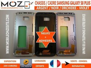 CHASSIS / CADRE NEUF CENTRAL BOITIER METAL SAMSUNG GALAXY S8 + (G955F)