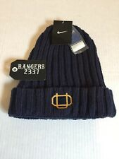 Nike Oregon Ducks Webfoots Knit Beanie Cap Hat Navy Fleece One Size