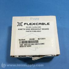 FLEX-CABLE INC  FCBB-K6K3 KINETIX 6000 BREAKOUT BOARD FNOB