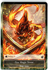 4x 4 x Fire Magic Stone - SKL-102 - C - 1st Edition  x4 Force of Will