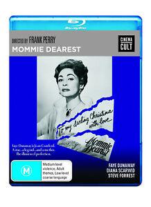 BRAND NEW Mommie Dearest (Blu-Ray, 1981) REGION B | Movie Faye Dunaway