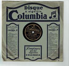 78T Louis IZAR Vinyle Phonographe LE PAYS DU SOURIRE Chanté COLUMBIA DF932 RARE