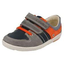 Chaussures bleues en cuir pour garçon de 2 à 16 ans Pointure 23