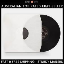 "25 X Record Inner Sleeves – Paper & Poly Lined – White for 12"" Vinyl LP's"