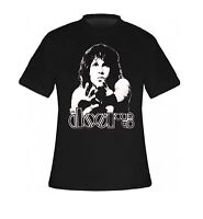 Brand New Mens The Doors Jim Morrison Reach Black T Shirt  (Small - 2XL)