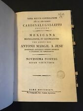 [10831-B32] Mexicana Beatificationis Antoni margil a jesu - 1836