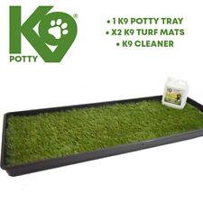 More details for k9 potty pet dog puppy toilet mat indoor outdoor training  k9 size 100cmx40cm