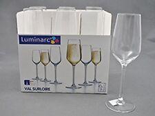 Luminarc Val Surloire 19cl / 6.25oz 6pc Champagne Flutes 2017