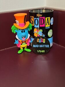 Mad hatter Black Light Alice In Wonderland Funko Shop Soda Common FREE Shipping