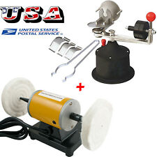 US Dental lab Polishing Machine +Centrifugal Casting Machine Centifuge for alloy