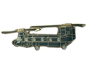 Boeing Chinook CH-47 Helicopter 1 1/2 inch Hat Lapel Pin H15292 F5D3U