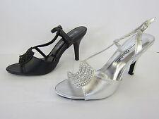 Evening Slim Heel Slingbacks for Women