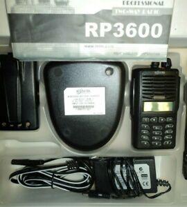 Relm UHF 128 Chanel Field Programmable Ham Radio - 2-Way Radio RP3600A RP3600 BK