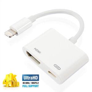 4K iPad to TV Digital AV Adapter, USB C to HDMI for iPad Air 4/ iPad Pro 11 12.9