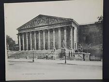 French Paris Guidebook Original Page Photo-Print La Chambre Des Deputes #13