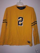 Aeropostale M cotton yellow long sleeved shirt
