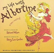 NEW My Life with Albertine (2003 Original Off-Broadway Cast) (Audio CD)