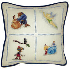 Thomas Kinkade Cross Stitch Kit - Disney Dreams Collection Pillow
