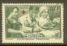 """FRANCE TIMBRE STAMP N°459 """"AU PROFIT DES BLESSES CROIX ROUGE"""" OBLITERE TB"""