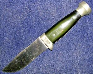 Unusual Vintage Case's Tested XX Hunting Knife! 1932-1940! Unusual Pommel! NICE