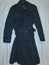 DSCP Black Trenchcoat With Lining size is 44s