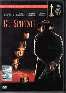 GLI SPIETATI EDIZIONE SPECIALE 2 DISCHI - DVD INTROVABILE NUOVO SIGILLATO