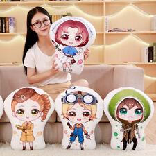 Game Identity V Q version Cute Pillow Sofa Cushion Plush Toy Stuffed Doll Gifts