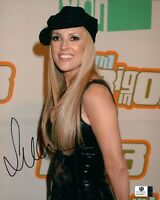 Jillian Barberie Signed Autographed 8X10 Photo Sexy Long Hair with Hat GV838217