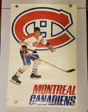 Vintage NHL Montreal Canadiens     1971               24 X 36 POSTER