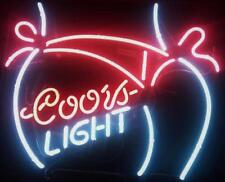 "New Coors Light Bikini Girl Beer Bar Pub Neon Light Sign 19""x15"""