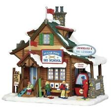 Lemax ~ Sugar Pine Ski School Prelit Village Building