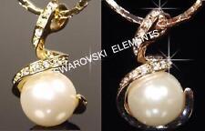 Collane e pendagli di bigiotteria perli oro gialli oro