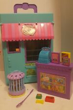 Littlest petshop store carrying storage case playset 1992 kenner lovebirds teal
