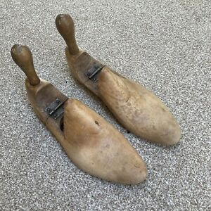 Vintage Wooden Shoe Formers Lasts