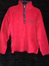 Converse brand Ladies size M sweat top**RED**100% polyester**Polar Fleece**BNWT