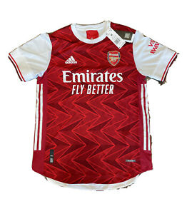Adidas 2020-2021 ARSENAL Authentic Home Soccer Jersey Football Shirt FH7815 Sz M