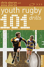 Sheryn Chris-101 Youth Rugby Drills BOOK NEW