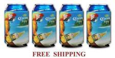 Corona Extra 4 Parrot Beer Can Coolers Koozie Coolie Huggie Modelo New