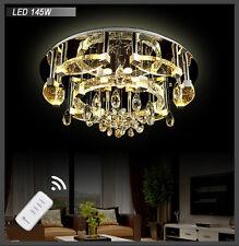 LED Deckenleuchte 1616 55cm 66W Kristall Fernbedienung 3 Lichtfarbe schaltbar