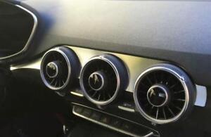 3 High Grade Alu Frame Set for Air Nozzles Audi TT FV 8S (2014 -) Interior Trim