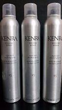 3X    Kenra 25  VOLUME SUPER HOLD FINISHING HAIR SPRAY 10 oz (283 g)