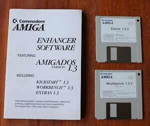 Amiga Workbench 1.3.3 and Extras 1.3.3 Rev. 34.34 for Commodore AMIGA Tested