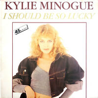 """Kylie Minogue 12"""" I Should Be So Lucky - France (VG/EX)"""