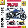 Suzuki GSX-R600 Haynes Manual 2003-08 GSX-R750 GSX-R1000 Workshop Manual
