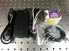New Coherent Obis 405 250 Solid State Diode Laser System 405nm 250mw Withpsu